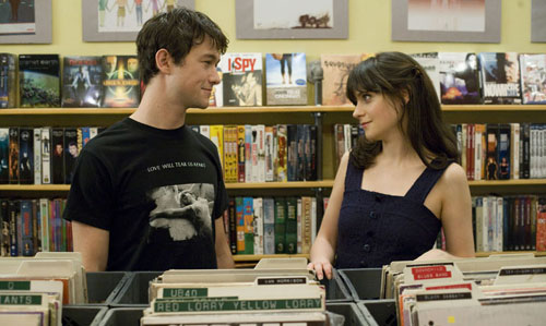 500 Days of Summer store scene