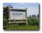 Boundary Bay - Regional Park Entrance Sign
