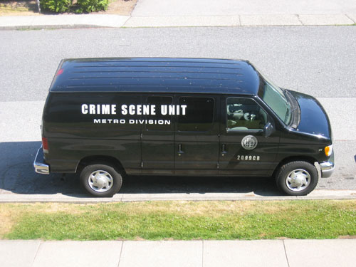 Crime Scene Unit Van