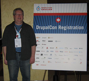 Dale at DrupalCon 2011
