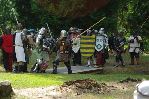 Barony of Lions Gate battle