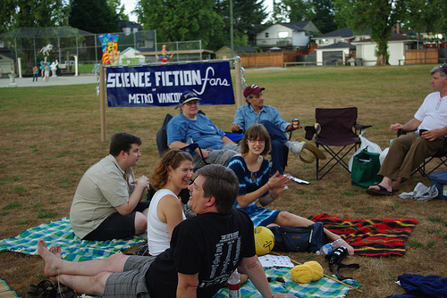 Sci-Fi Group at Illuminares 2009