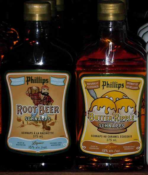 Root Beer and Butter Ripple Schnapps