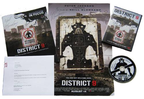 District 9 Prize Pack