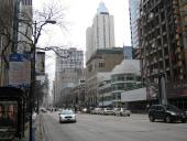 Major street, I think Michigan Ave