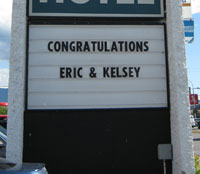 Congratulations Eric & Kelsey