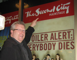 Dale at Chicago Second City