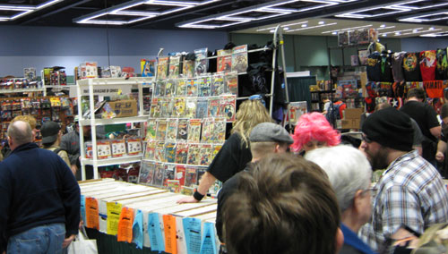 ECCC 2010: Comic book sales in the dealer room