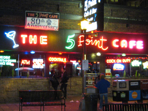 5 Point Cafe Exterior