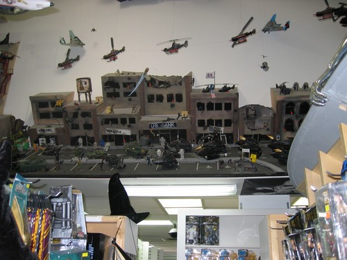 Toy Traders Diorama