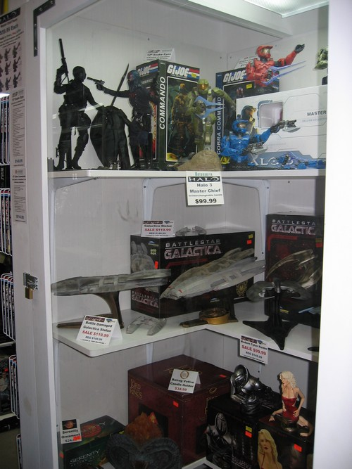Toy Traders Display Case