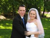Eric and Kelsey, husband and wife