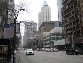 Major street, I think Michigan Ave