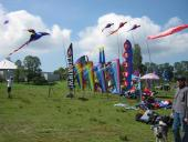 Kites and banners