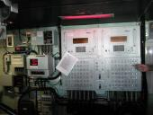 Control panel in bridge